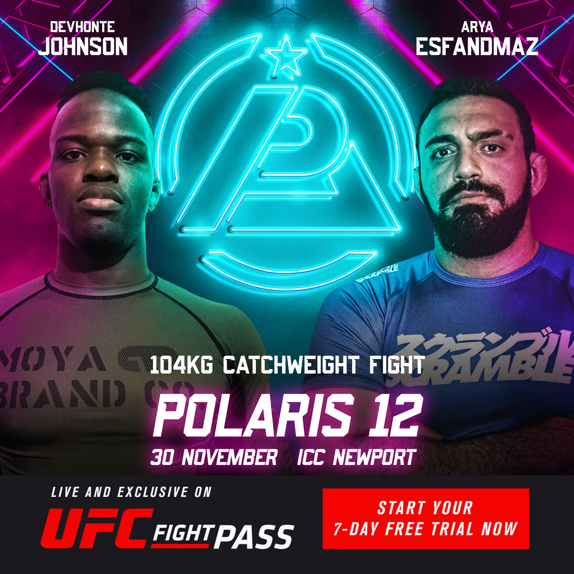 Polaris 12 - Devhonte Johnson VS Arya Esfandmaz