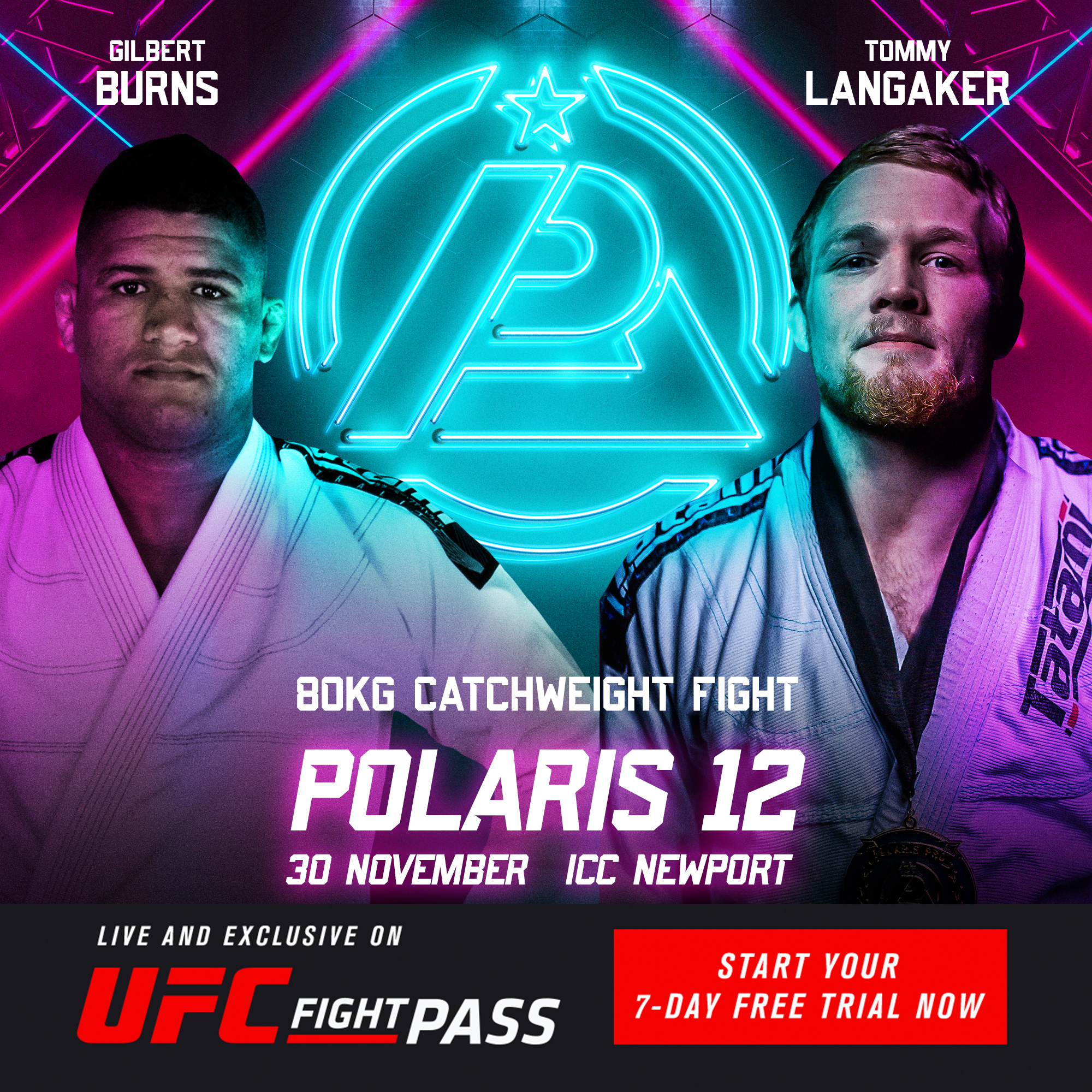 Polaris 12 - Gilbert Burns VS Tommy Langaker