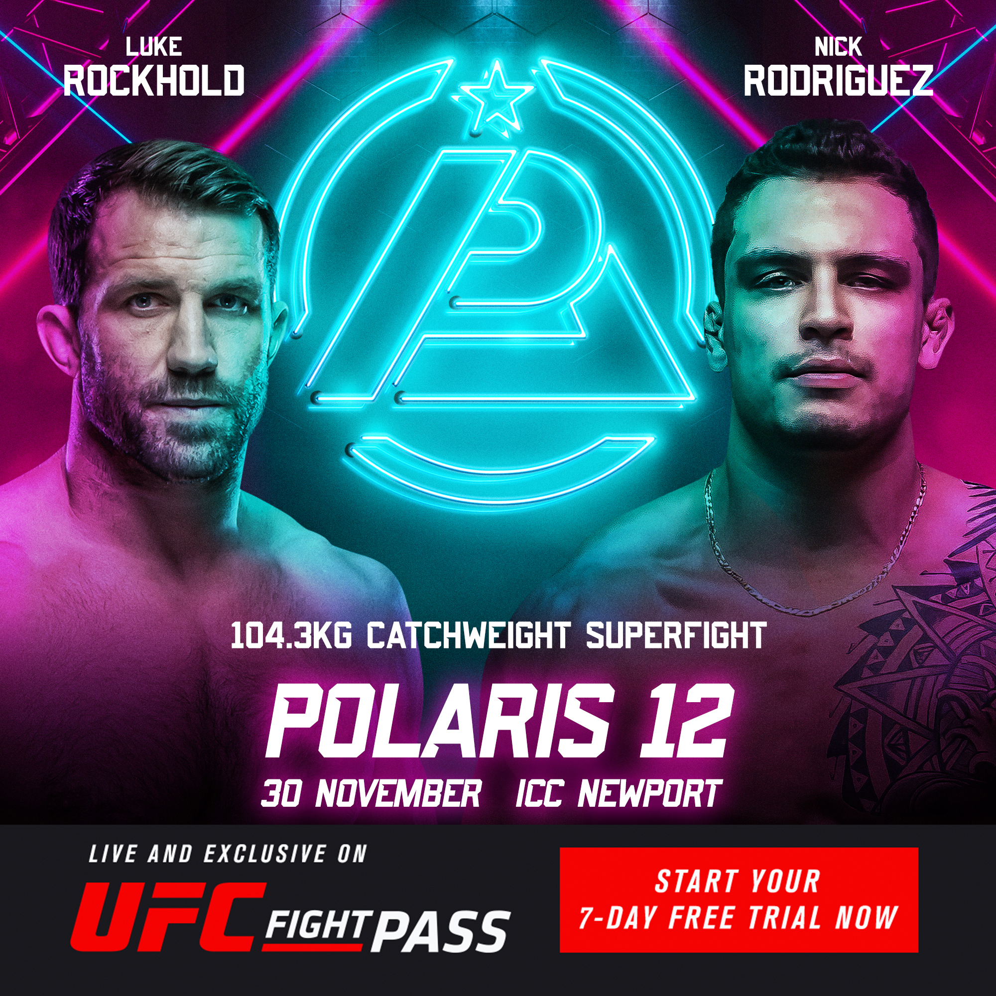 Polaris 12 – Luke Rockhold VS Nick Rodriguez